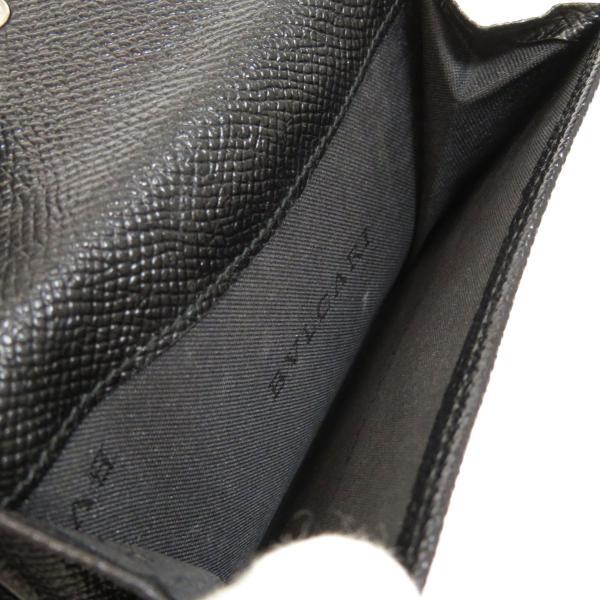 BVLGARI ブルガリ B-zero1 二つ折り財布(小銭入れあり)レザー メンズ 中古|kyounokura|05