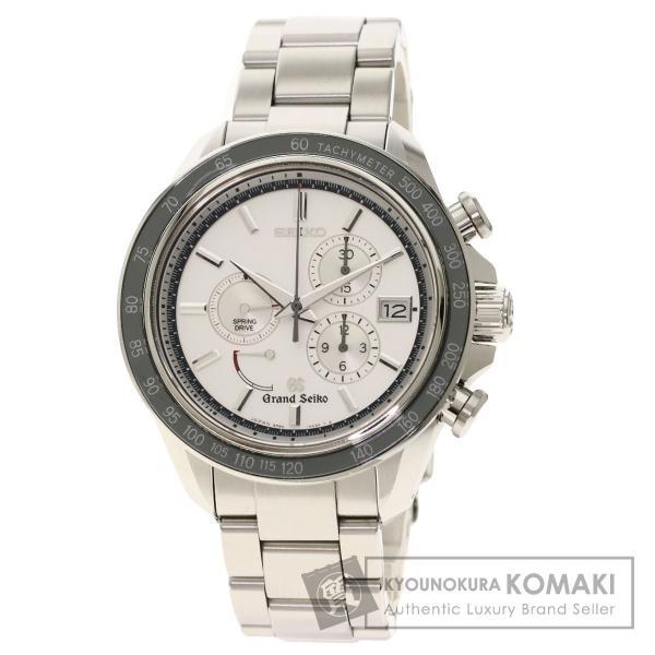 SEIKOセイコー9R84-0AA0グランドセイコーSBGB001腕時計ステンレススチールSSメンズ中古