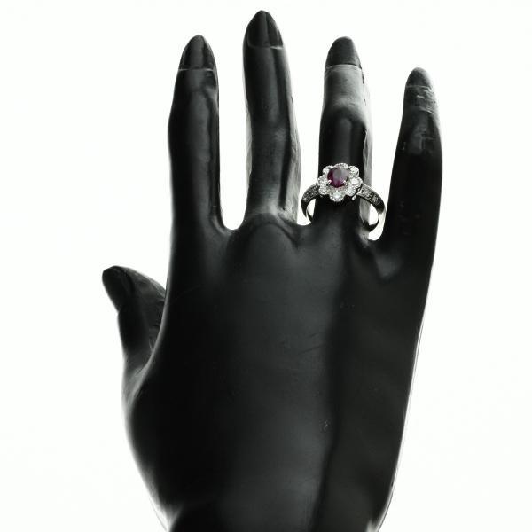 ルビー ダイヤモンド リング・指輪 プラチナPT900  中古 SELECT JEWELRY セレクトジュエリー