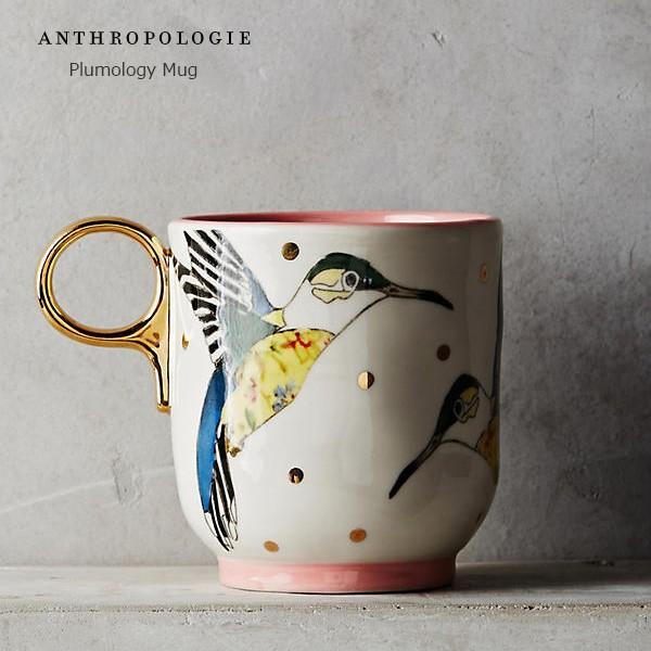 ANTHROPOLOGIE アンソロポロジー マグカップ Plumology Mug ROSE|kyouto-bluelapin
