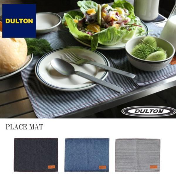 ダルトン ランチョンマット PLACE MAT デニム ヒッコリーストライプ アウトドア テーブルマット Dulton|kyouto-bluelapin