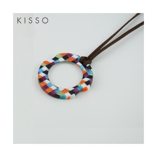 KISSO キッソオ ルーペ KOC-C30 マルチブロック メガネ素材のペンダントルーペ 鯖江