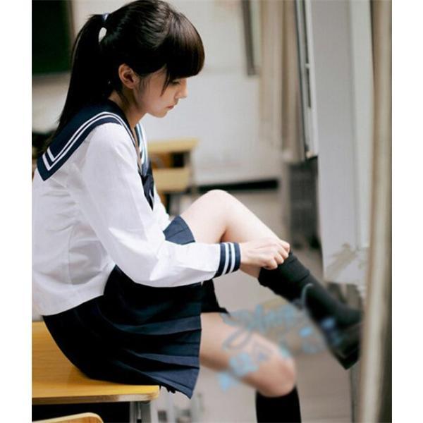 ca13ed1e3e76e  協和屋 女子高生 制服 リボンタイ コスプレ セーラー服 卒業式 スーツ コスチューム 入学式 ...