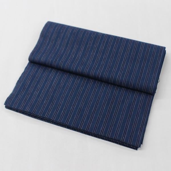 三河木綿 反物 未仕立て メンズ 男性 縞 レディース 女性 着物 きもの|kyouya