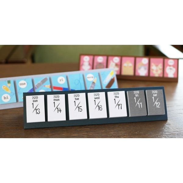 めくって貼れる!卓上型の日めくり付せんカレンダー2019 himekuriヒメクリ Page-a-day calendar (stationary)|kyouzai-j|03