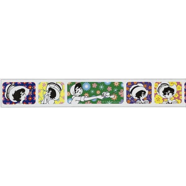 mt マスキングテープ 手塚キャラクターズ リボンの騎士×フラワーパターン (18mm×7m)MTTOPR02