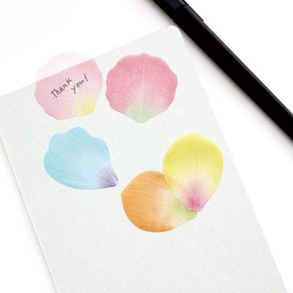 paperableフラワーふせん<ピンク> stikymemo|kyouzai-j|03