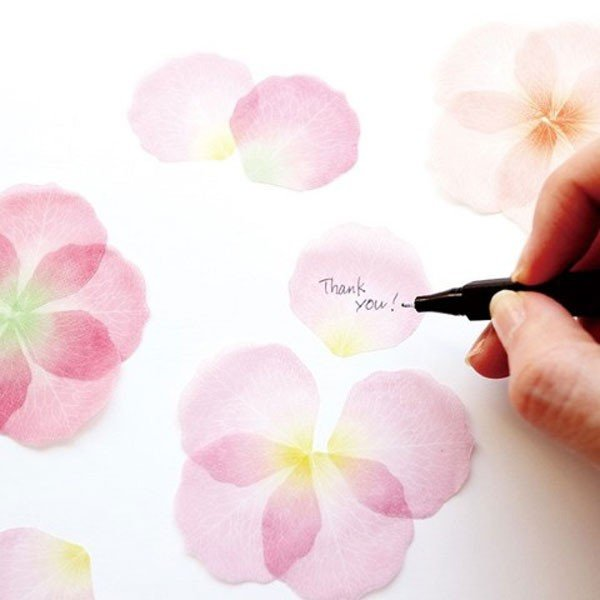 paperableフラワーふせん<ピンク> stikymemo|kyouzai-j|05