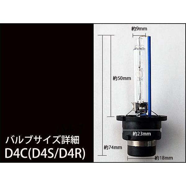 55W HID バルブ 純正 交換用 HIDバルブ D4C  D4R / D4S 兼用 2本セット 3000K 6000K 8000K 10000K 12000K 1年保証|kyplaza634s|02