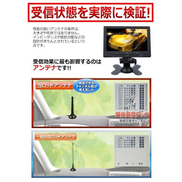 地デジ ワンセグ の電波が良くなる 高感度 ロッドアンテナ F型 コネクター 伸縮可能 地デジアンテナ 国内 メーカー 保証 6ヶ月|kyplaza634s|04