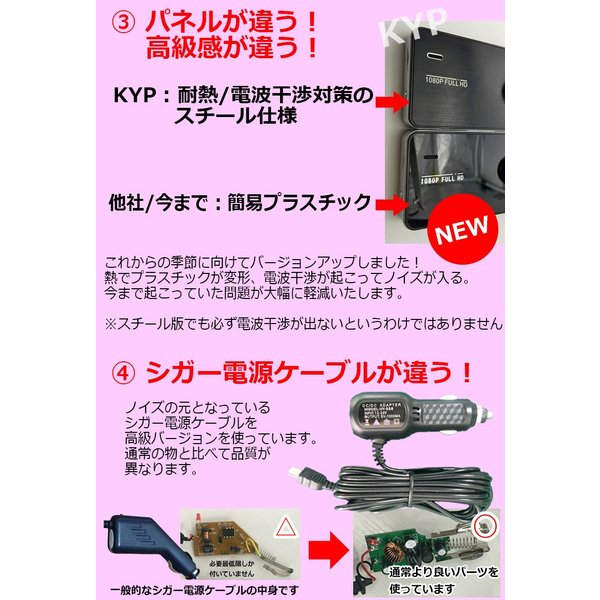 --2個セット-- ドライブレコーダー フルHD対応 Gセンサー搭載 HDMI出力 動体感知 自動録画 日本 マニュアル付属 1年保証 K6000|kyplaza634s|06