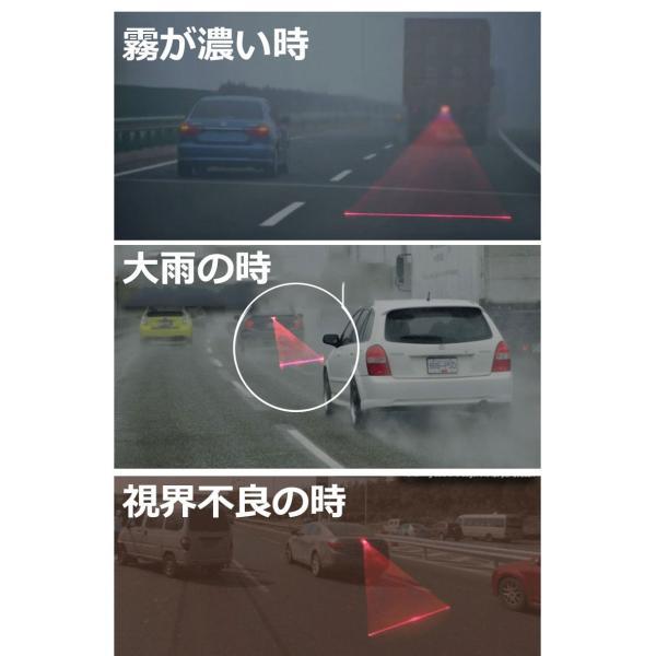 レーザーフォグ 追突防止 リアフォグランプ レーザービーム 日本語マニュアル|kyplaza634s|04