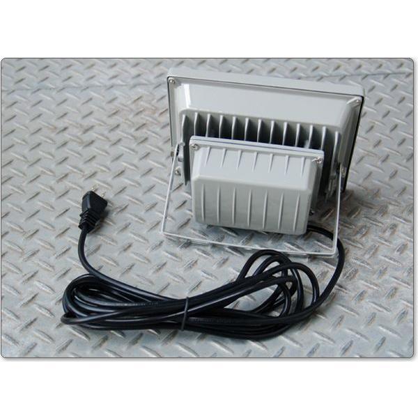 LED投光器 30W 300W相当 昼光色 6000K AC 明るい 防水加工 3mコード付 2個セット|kyplaza634s|02