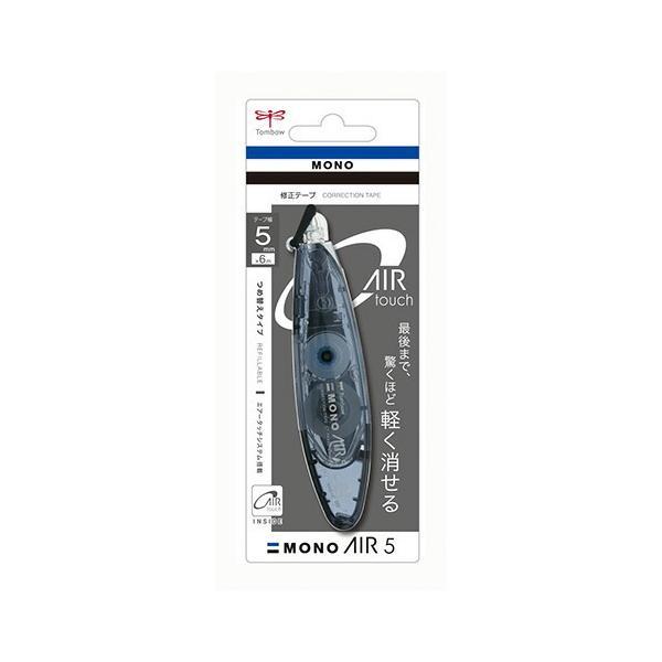 トンボ鉛筆 修正テープモノエアーペン型詰替ブラック CT-PAX5C11