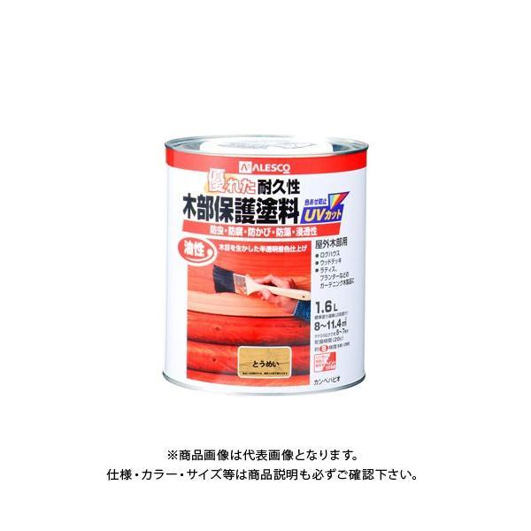 カンペハピオ 油性木部保護塗料 とうめい 1.6L 00237644001016