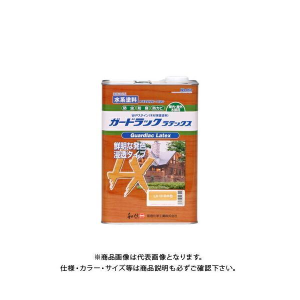 和信ペイント ガードラックラテックス 白木色 3.5kg #952263