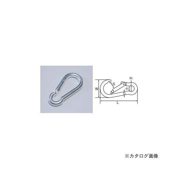 ひめじや HIMEJIYA 鉄ユニクロスプリングフックS 20入 WS-6
