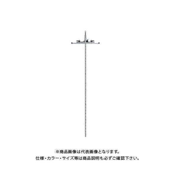 シンワ測定丸ノコガイド定規tスライドスリムシフト290cm併用目盛73545