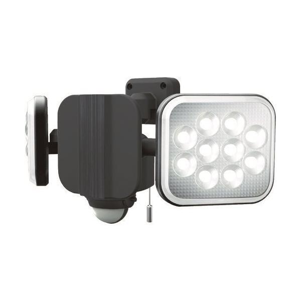 ダンケ 12W×2灯 フリーアーム式LEDセンサーライト E40224