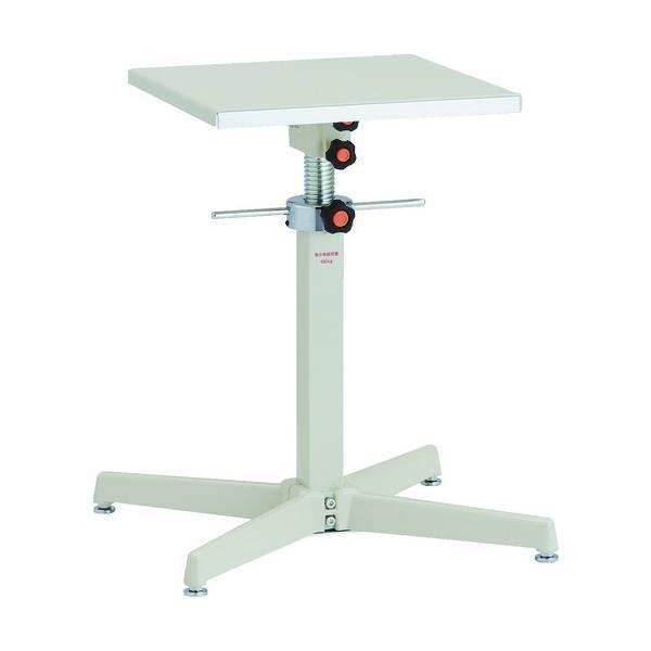 (直送品)TRUSCO ローハイシステムテーブル ジャッキアップ式 400X400 TRS-400S