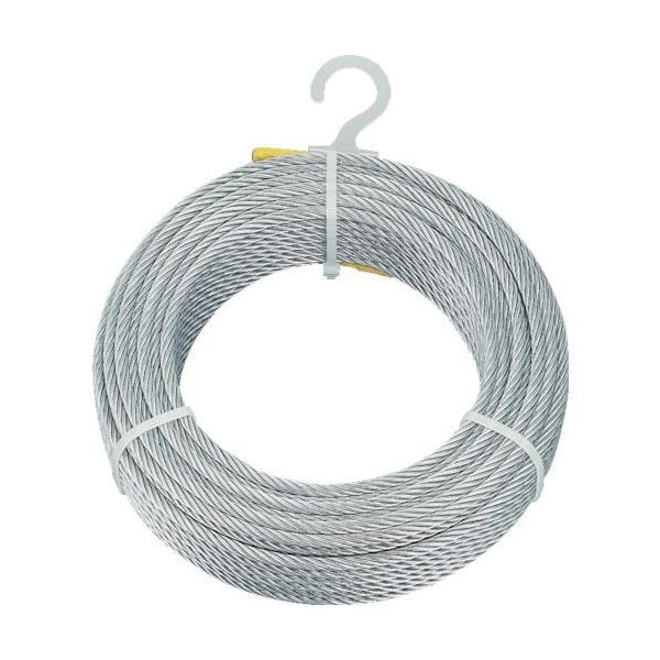 TRUSCO メッキ付ワイヤロープ Φ2mmX20m CWM-2S20