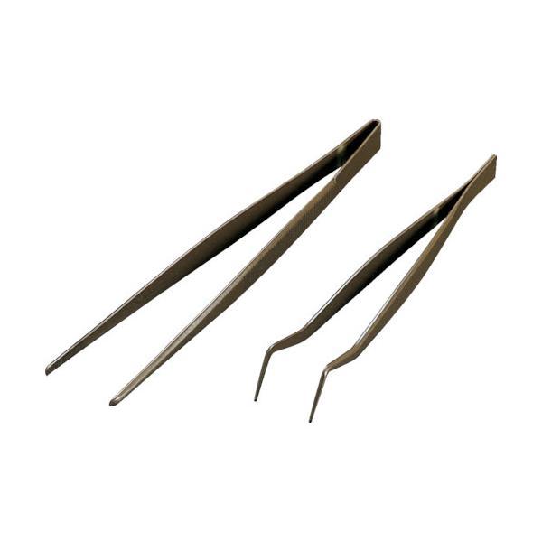 フロンケミカル フッ素樹脂コーティングピンセット 125mm 膜厚約50μ NR0366-001