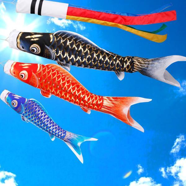 鯉のぼり こいのぼり ベランダ 天龍 1.2m 家紋入れ・名前入れ可能吹流し|kyuhodo|02
