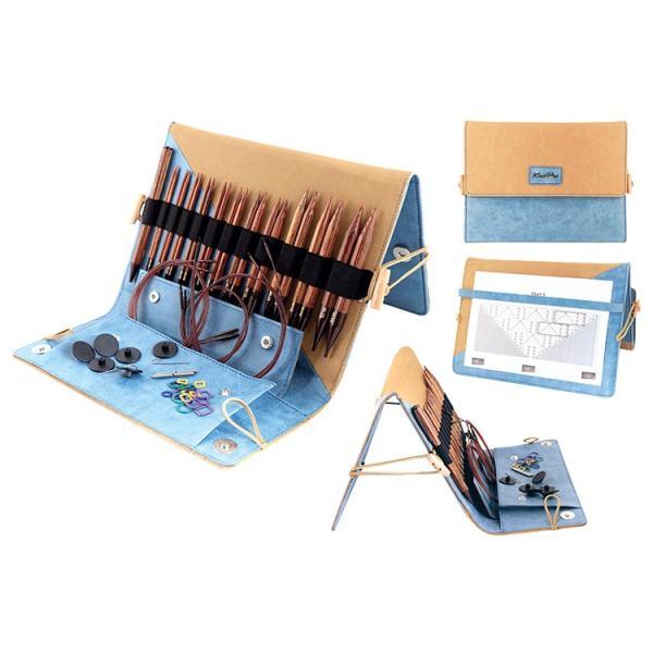 (品切れ中につき予約注文受付中 次回10月下旬入荷予定)ニットプロ ジンジャー Knit Pro ginger 付け替え式 輪針 デラックスセット 31281