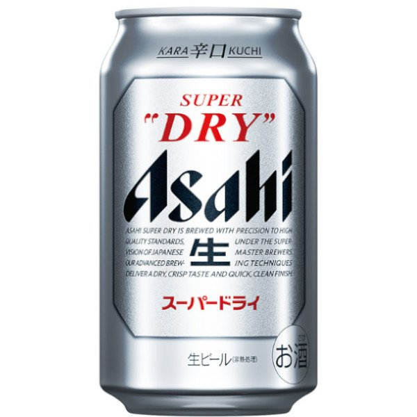 アサヒ スーパードライ350ml缶1ケース(24本入)