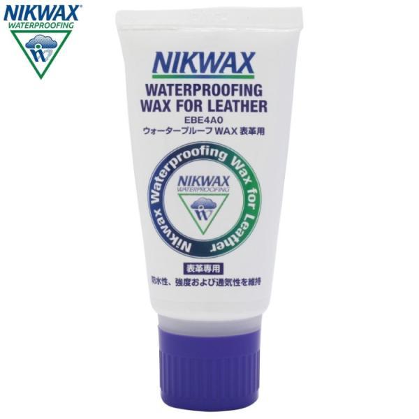 NIKWAX ニクワックス ウォータープルーフWAX 革用 撥水剤(表革専用) EBE4A0 返品交換不可