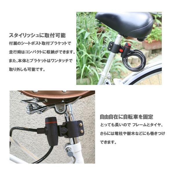 PALMY P-555 ダストカバー付ワイヤーロック kyuzo-shop 03