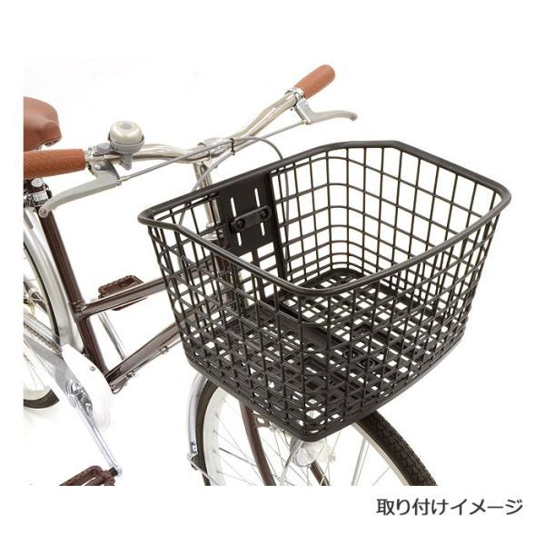 OGK技研 FB-057K 大容量まえ用バスケット 自転車 籠 カゴ かご フロント用 前かご フロントバスケット|kyuzo-shop|02