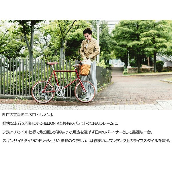 Fuji フジ HELION ヘリオン 8段変速 ミニベロ 20インチ|kyuzo-shop|04