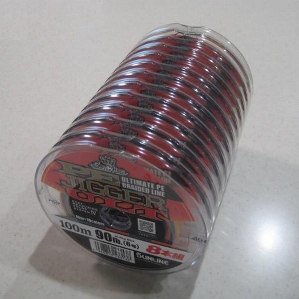 サンライン PEジガーULT 8本組 ソルティメイト 2号 35LB 100m連結 (1200m連結まで対応)  国産8本組PEライン|kzshopping|02