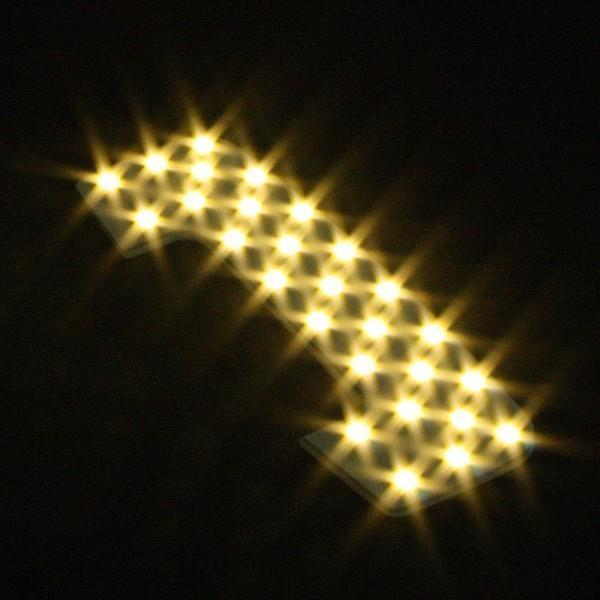 ジムニー ジムニーシエラ JB64 JB74 LEDルームランプ SMD T10プレゼント付 5点166発 安心の1ヵ月保証★ ウォームホワイト|l-c|03