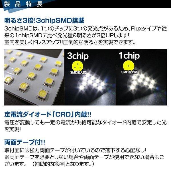 ジムニー ジムニーシエラ JB64 JB74 LEDルームランプ SMD T10プレゼント付 5点166発 安心の1ヵ月保証★ ウォームホワイト|l-c|04