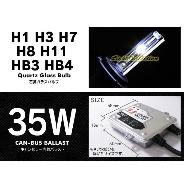 HID 信玄 HB4 HB3 H11 H8 H7 H3 H1選択可 35W キャンセラー HIDキット ワーニングキャンセラー内蔵 警告灯対策に|l-c|02