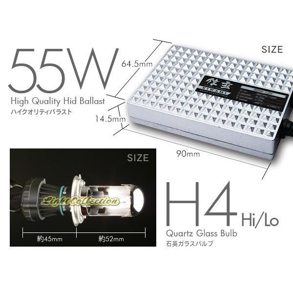HID H4 hi/lo キット 55W 24V専用 信玄 KIWAMI リレー付  安定性向上ハイクオリティな煌き|l-c|02