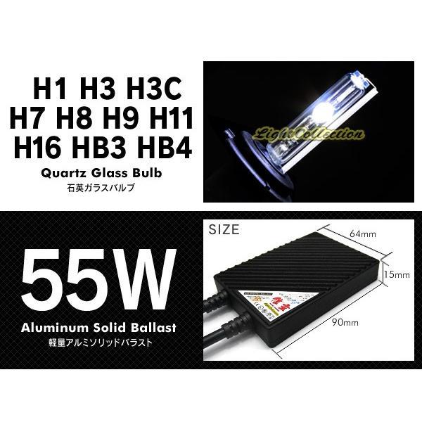 HID 信玄 HB4 HB3 H16 H11 H9 H8 H7 H3C H3 H1選択可 55W HIDキット ヘッドライト フォグランプに|l-c|02