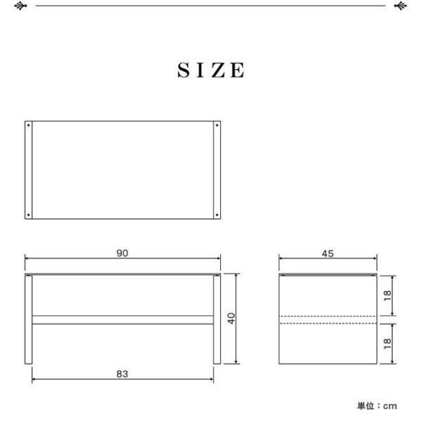 テーブル ガラス ローテーブル センターテーブル リビングテーブル コーヒーテーブル ガラステーブル 木製 幅90cm x 奥行45cm x 高さ40cm 厚さ8mm強化ガラス 北|l-design|03