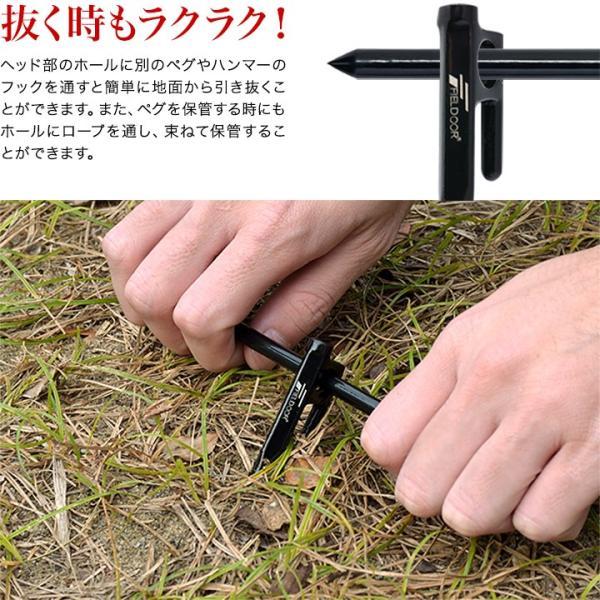 ペグ 鍛造ペグ テント用ペグ4本セット 送料無料 メール便|l-design|05