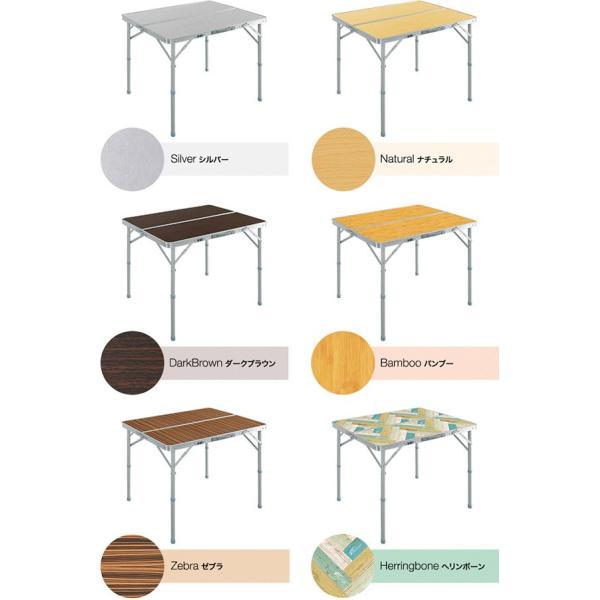 レジャーテーブル 折りたたみ テーブル アウトドアテーブル 折り畳み 90X60X70cm アウトドア キャンプ FIELDOOR 運動会 送料無料|l-design|02