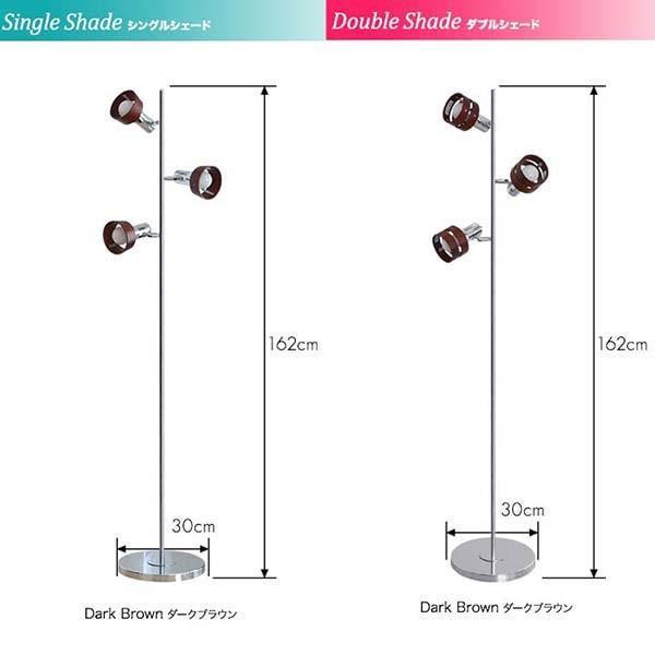 フロアライト スタンドライト おしゃれ 照明 3灯 LED対応 フロアランプ 間接照明 室内ライト ルームランプ ライト 送料無料|l-design|04