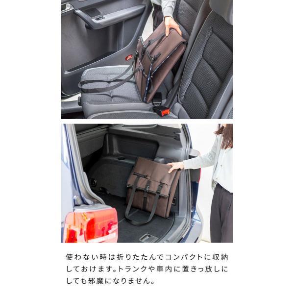 ペット 犬 ドライブボックス Sサイズ 38 x 38 x 25 cm ドッグ キャリー ドライブベッド ドライブ カー ベッド 車 車用 ペットキャリー 折りたたみ 送料無料|l-design|08