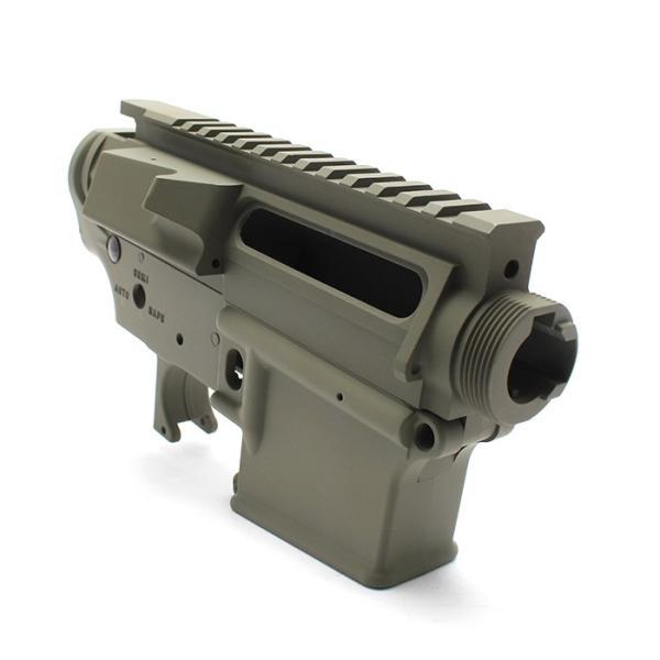 次世代電動ガン M4シリーズ用「[MG]アッパーフレーム」+「[MG]ロアフレーム」セット<セラコートVer.>|l-direct|06