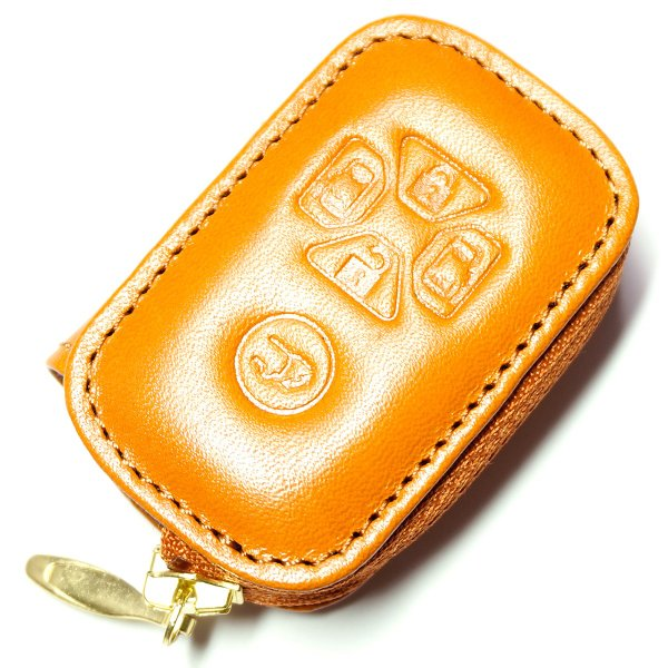 スマートキーケース 本革 トヨタ用 T1タイプ ボタンA SKC-T1 series|l-leather|04