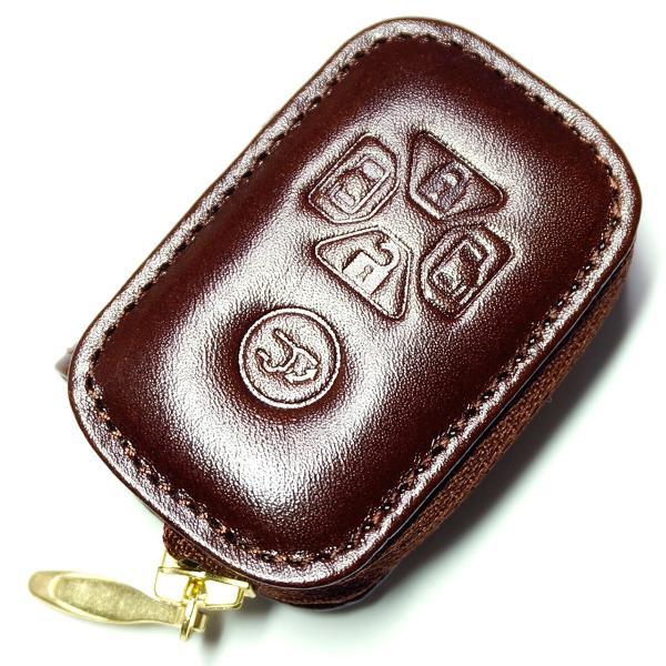 スマートキーケース 本革 トヨタ用 T1タイプ ボタンA SKC-T1 series|l-leather|05