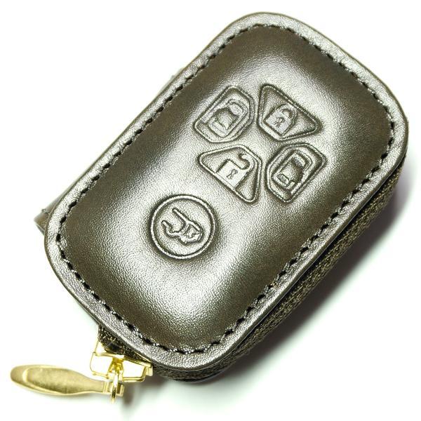 スマートキーケース 本革 トヨタ用 T1タイプ ボタンA SKC-T1 series|l-leather|07