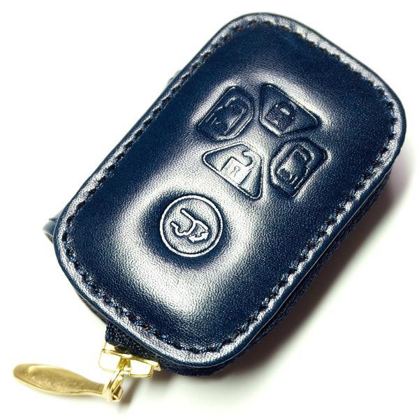 スマートキーケース 本革 トヨタ用 T1タイプ ボタンA SKC-T1 series|l-leather|09