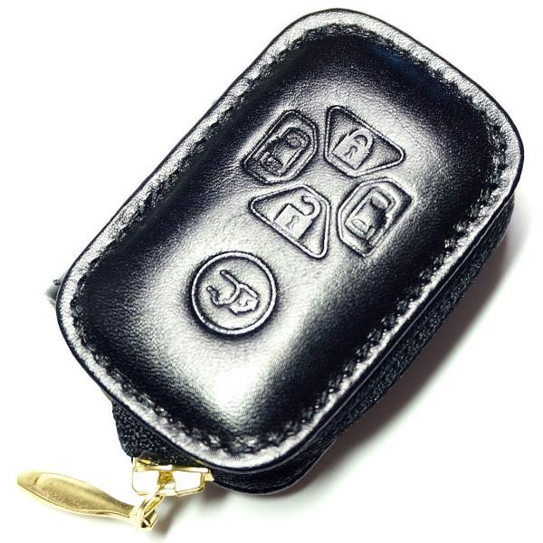 スマートキーケース 本革 トヨタ用 T1タイプ ボタンA SKC-T1 series|l-leather|10